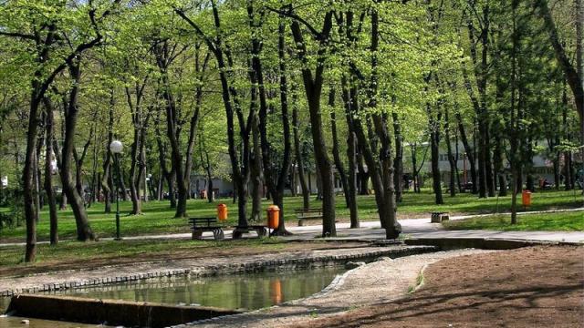 park u niskoj banji