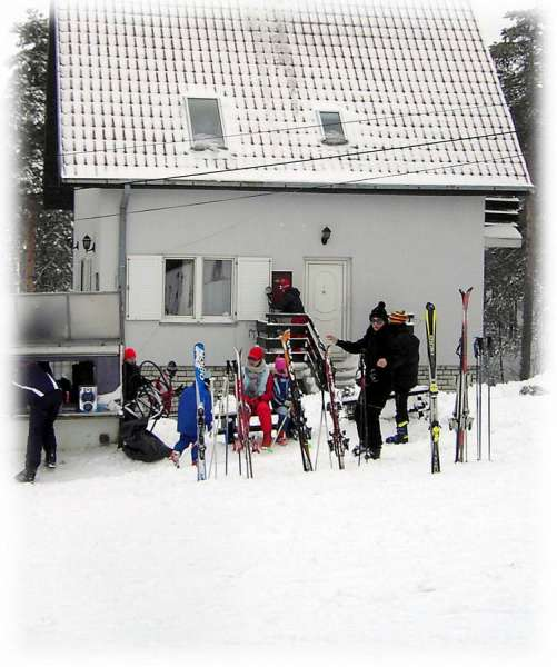 Kuća na ski stazi – Divčibare
