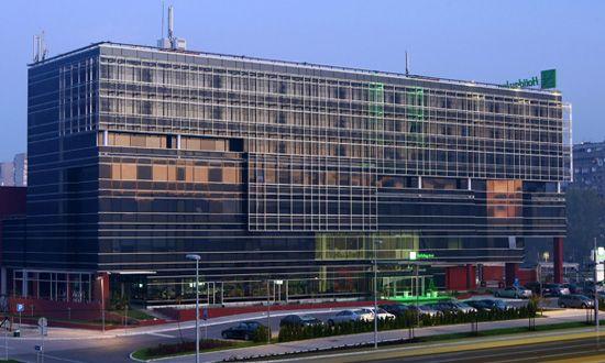 Hotel Holiday Inn Beograd - Spoljašnjost hotela