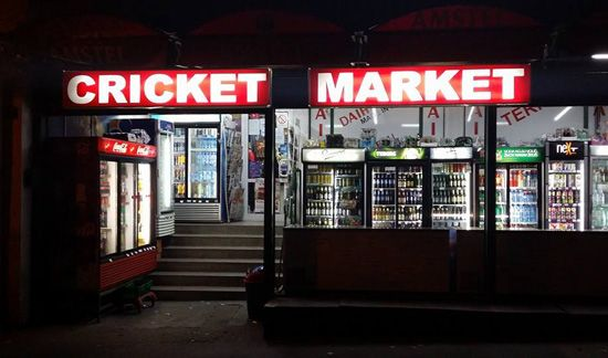 Cricket market